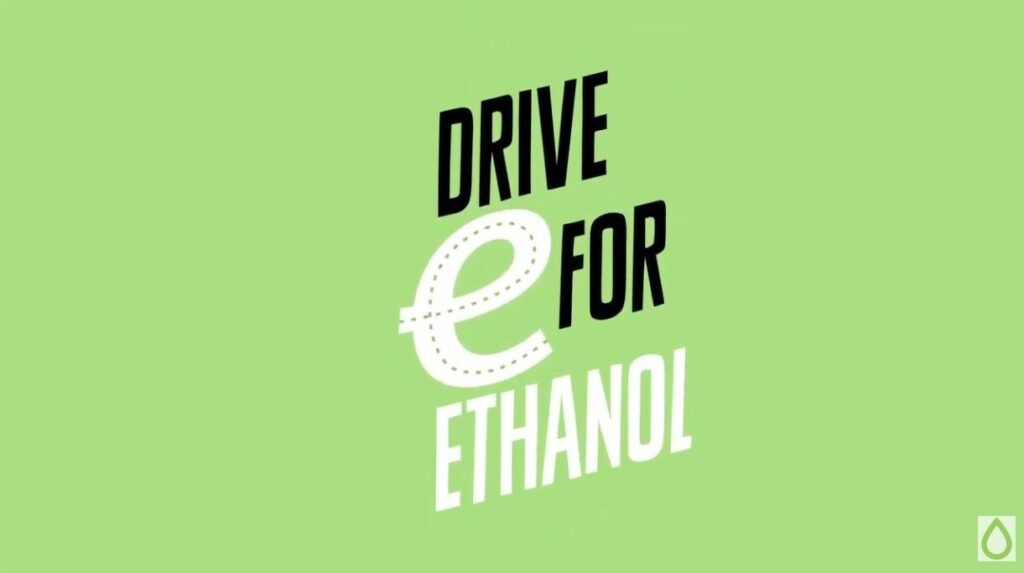 WATCH: The 'E' is for ethanol, and also for the Earth