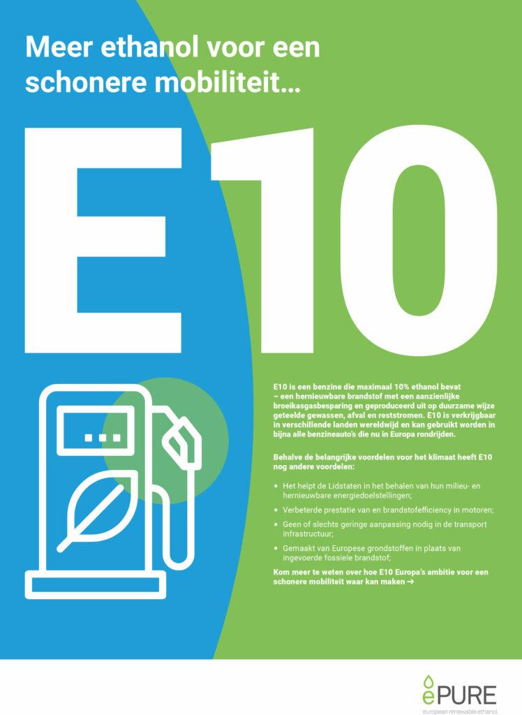 E10: Meer ethanol voor een schonere mobiliteit…