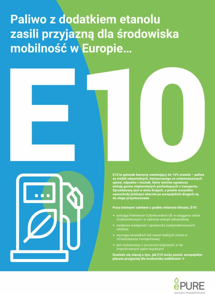 E10: Paliwo z dodatkiem etanolu zasili przyjazną dla środowiska mobilność w Europie…